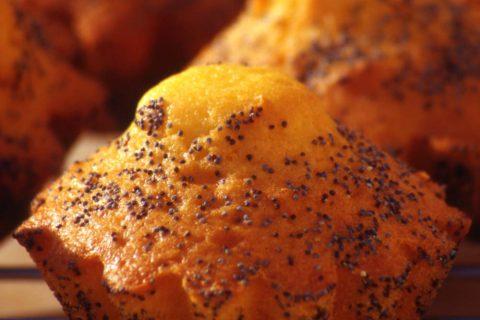 Petits gâteaux au safran et graines de pavot