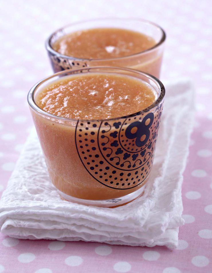 Smoothie ananas et oranges sanguines