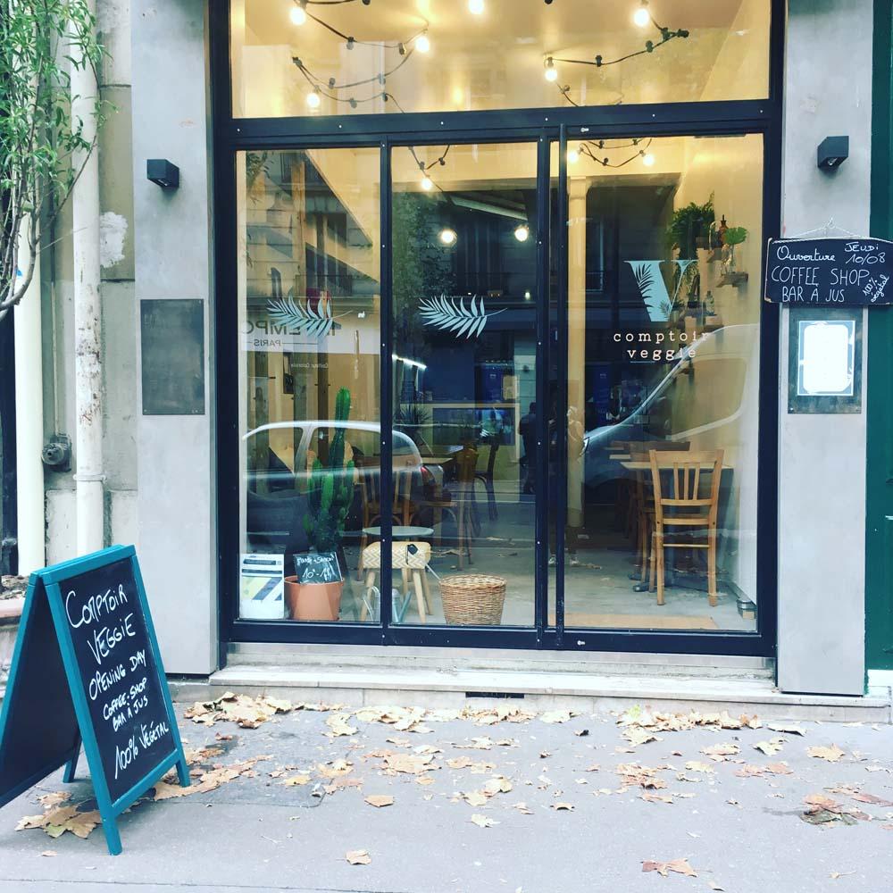 Restaurant Comptoir veggie, découvrez «The» coffee-shop végane à Bastille