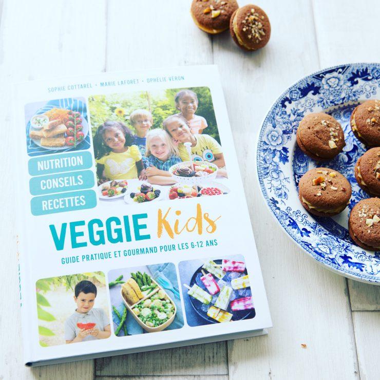 """Livre """"Veggie kids"""" - le guide pratique et gourmand des 6-12 ans"""