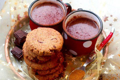 Cookies au beurre de cacao, cannelle et sarrasin