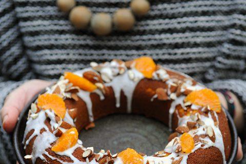 Gâteau aux agrumes et aux amandes