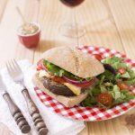 Burgers végétariens au steak de lentilles