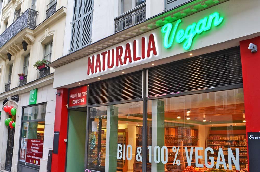 Ouverture du 4ème magasin Naturalia 100% vegan!