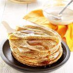 Pâte à crêpes de Laurence Salomon, sans lactose