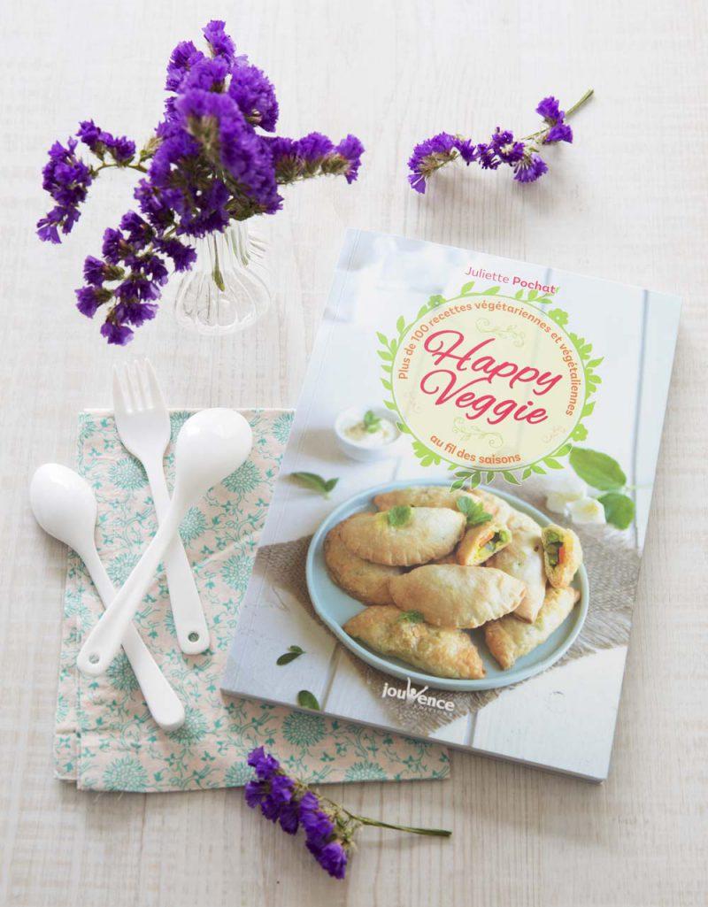 Recette Livre Happy Veggie aux éditions Jouvence
