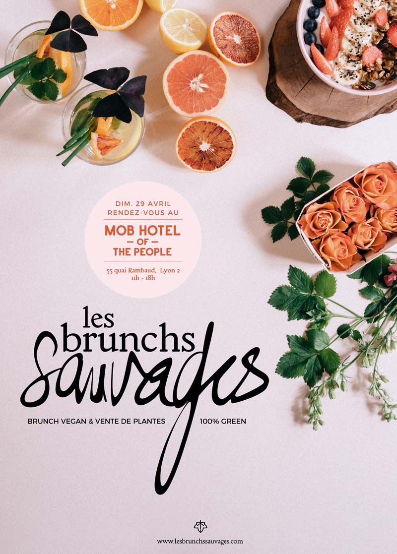 Les brunchs sauvages - 29 avril à Lyon avec Octavie and the foodies