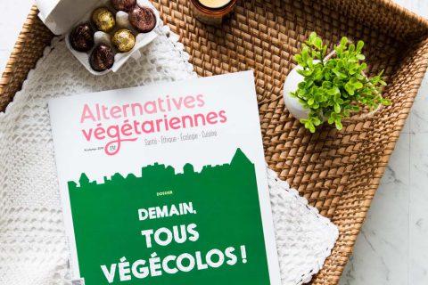 Connaissez-vous la revue «Alternatives végétariennes»?