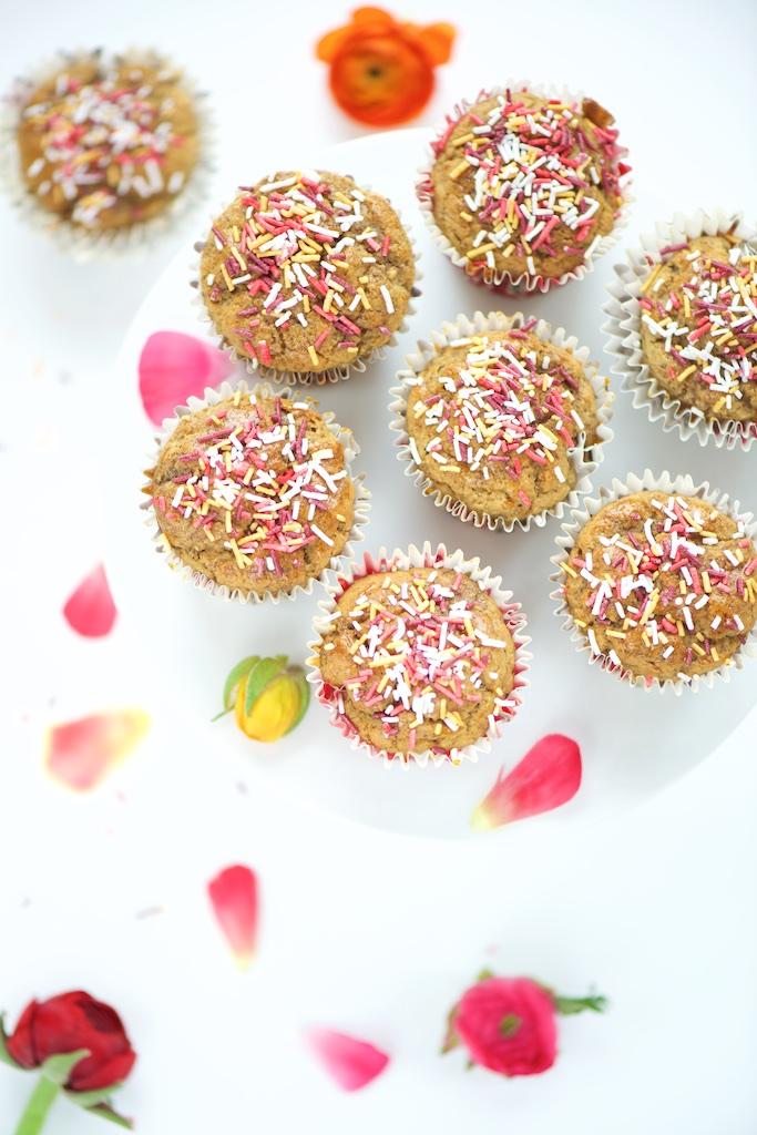 Muffins vanillés – vegan