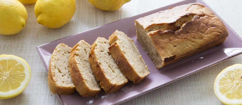 Cake citron vegan
