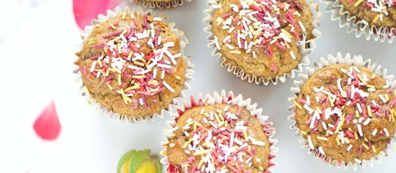 Recette muffins vegan sans gluten vanille