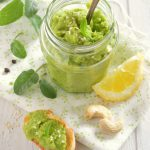 Pesto de courgettes crues
