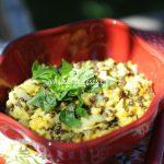 Curry de riz et lentilles