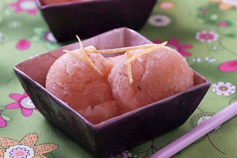 Sorbet pastèque pamplemousse