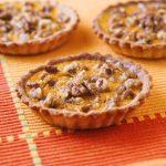 Tartelettes au potiron et aux noix