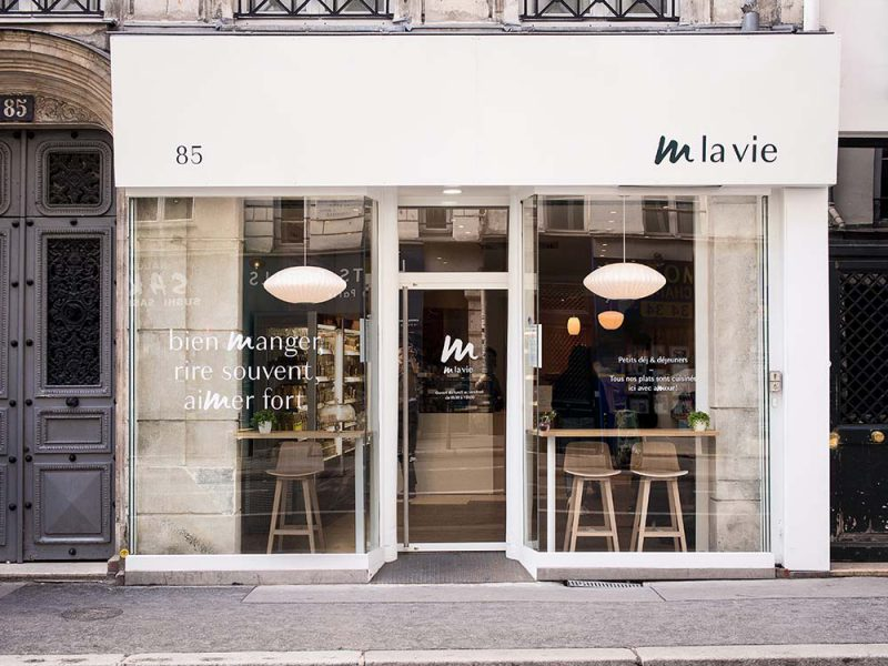Restaurant - M la Vie, une nouvelle cantine végétarienne - Paris