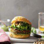 Burger veggie au chutney de coriandre