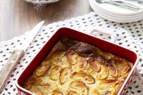 Délicieux far breton aux pommes – sans lactose